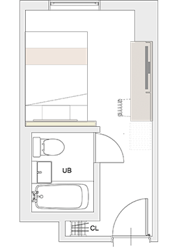 DOUBLE Floor plan sample