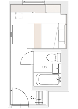 SINGLE Floor plan sample